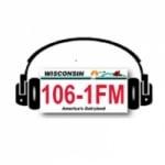 Logo da emissora WDKM 106.1 FM