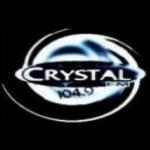 Logo da emissora Rádio Crystal 104.9 FM