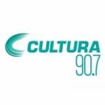 Logo da emissora Rádio Cultura 90.7 FM