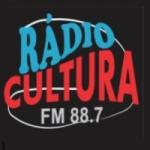 Logo da emissora Rádio Cultura 88.7 FM