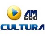 Logo da emissora Rádio Cultura 680 AM