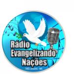 Logo da emissora Rádio Evangelizando Nações
