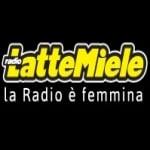 Logo da emissora LatteMiele 107.6 FM