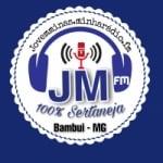 Logo da emissora Rádio Jovem Minas