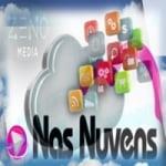 Logo da emissora Rádio Nas Nuvens FM