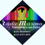 Logo da emissora Rádio Maxima