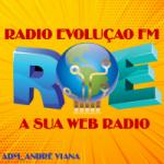 Logo da emissora Rádio Evolução FM