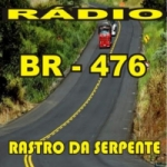 Logo da emissora Rádio 476 Rastro da Serpente