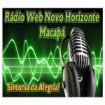Logo da emissora Rádio Web Novo Horizonte