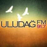 Logo da emissora Radio Uludag 91.7 FM
