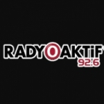 Logo da emissora Radio Aktif 92.6 FM