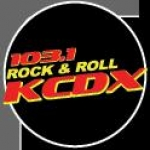 Logo da emissora KCDX 103.1 FM
