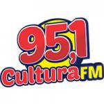 Logo da emissora Rádio Cultura HD 95.1 FM