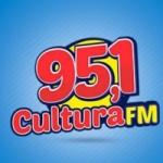 Logo da emissora Rádio Cultura 95.1 FM