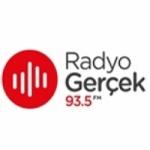 Logo da emissora Radio Gerçek 93.5 FM