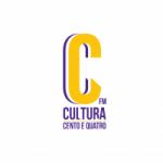 Logo da emissora Rádio Cultura 104 FM