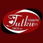 Logo da emissora Radio Tutku 104.0 FM