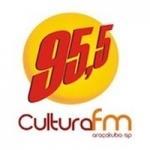 Logo da emissora Rádio Cultura 95.5 FM