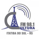 Logo da emissora Rádio Cultura 98.1 FM