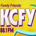 Logo da emissora KCFY 88.1 FM