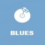 Logo da emissora Radio Positive Gold FM - Blues