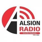 Logo da emissora Alsion Radio 106.3 FM