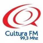 Logo da emissora Rádio Cultura 99.3 FM