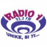 Logo da emissora Radio 1 93.2 FM