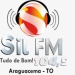 Logo da emissora Rádio Sil FM