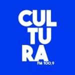 Logo da emissora Rádio Cultura 100.9 FM