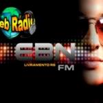 Logo da emissora Rádio EBN FM