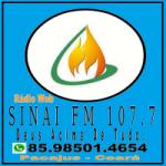 Logo da emissora Rádio Web Sinai FM