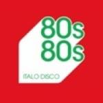 Logo da emissora Radio 80's 80's Italo Disco