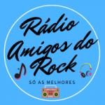 Logo da emissora Rádio Amigos do Rock