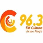 Logo da emissora Rádio Cultura 96.3 FM