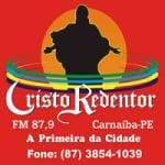 Logo da emissora Rádio Cristo Redentor FM