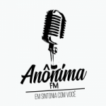 Logo da emissora Rádio Anônima FM