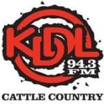 Logo da emissora KDDL 94.3 FM Cattle Country