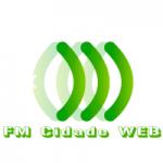 Logo da emissora Rádio FM Cidade Web