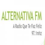Logo da emissora Rádio Alternativa FM do Ferreiro