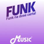 Logo da emissora Rádio Music FM Funk