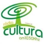 Logo da emissora Rádio Cultura 1030 AM