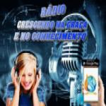 Logo da emissora Rádio Crescendo Na Graça e No Conhecimento