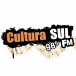 Logo da emissora Rádio Cultura Sul 98.5 FM