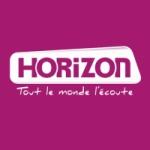 Logo da emissora Horizon Lens 88 FM