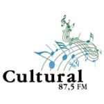 Logo da emissora Rádio Cultural 87.5 FM