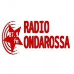 Logo da emissora Onda Rossa 87.9 FM