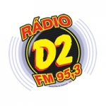 Logo da emissora Rádio D2 FM 95.3