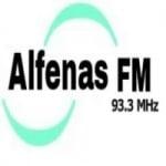 Logo da emissora Rádio Alfenas FM
