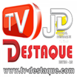 Logo da emissora Rádio e TV Destaque